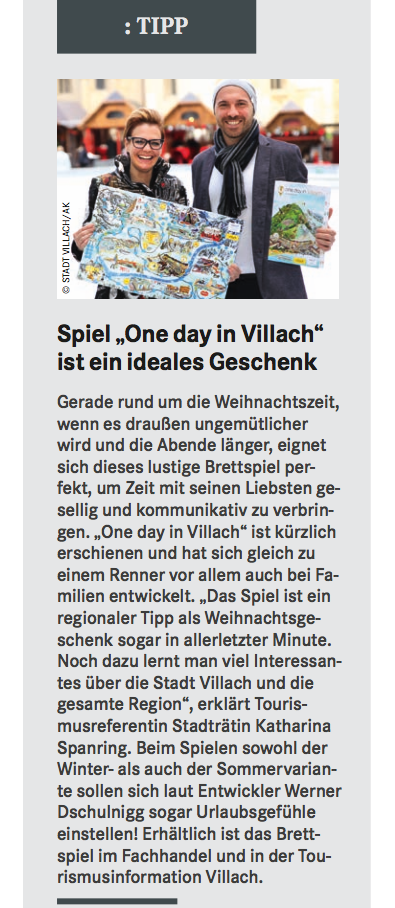 Villacher Stadtzeitung