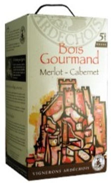 BOIS GOURMAND. Bag in box 5 litros.