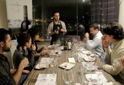 Taller catas de vino Sommelier Wine Not México