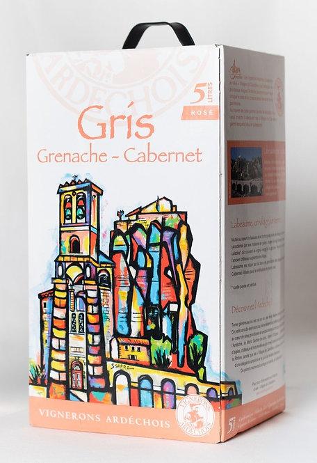 GRIS.  Bag in box 5 litros