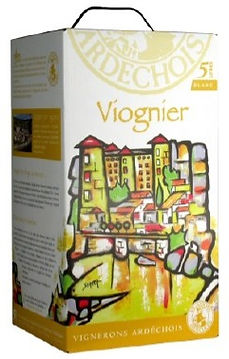 VIOGNIER.  Bag in box 5 litros.