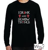 Playeras con frases de Vino. Wine Not México. T shirts con frases alusivas al vino. Game of Thrones.