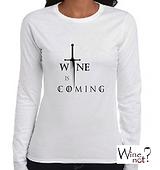 Playeras con frases de Vino. Wine Not México. T shirts con frases alusivas al vino.