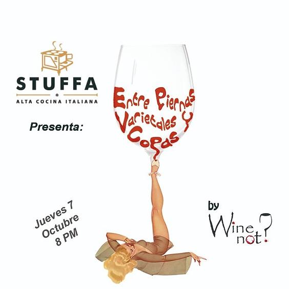Entre piernas, varietales y copas -Stuffa
