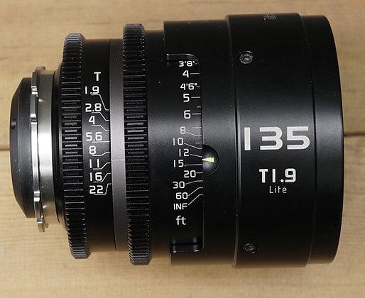BT 135mm T1.9 lite version