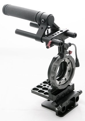 MILC E-mount base+ A-Mount + 15mm riser