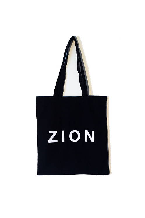 ZION - Organic Cotton Tote bag