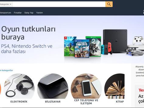 Amazon土耳其站投入服務 不收Listing費用