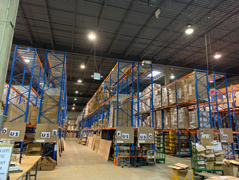 海外倉庫網絡 覆蓋全球
