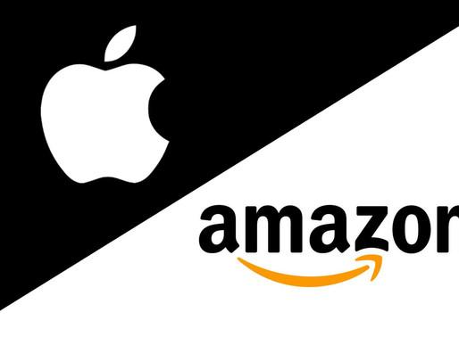 全球電商龍頭亞馬遜與蘋果兩巨頭合作,聯手搶年末購物節商機