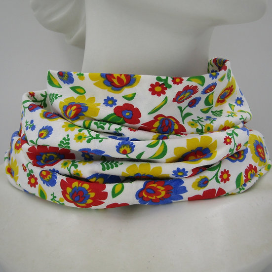 Floral Folk Snood