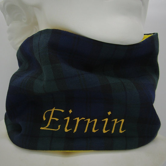 Black Watch Tartan Infinity Scarf