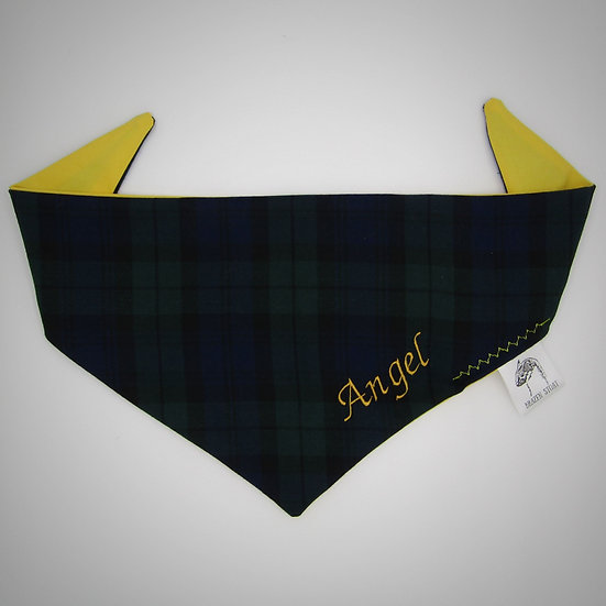Black Watch Tartan Pet Bandana
