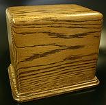 wooden funeral urns,wooden cremation urn,carved funeral urns,oak urns,houles custom woodcarving,funeral urns,cremation urn,wooden cremation urns,
