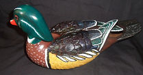 woodduck decoy,carved decoy,duck carving,wooden decoys,hand carved duck decoy,woodduck carving,houle s custom woodcarving