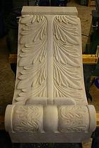 Pine corbel, acanthus corbel,carved corbel,wooden corbel, houle s custom woodcarving