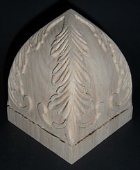 Bell top Acanthus Finial