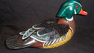 carved woodduck,duck decoy,woodduck,carved woodduck,decorative decoys,decoy carving,bird carvings,wooden duck decoys,wooden decoys, Houles custom woodcarving