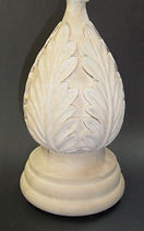 Acanthus spiral Finial from Houle s Custom Woodcarving