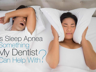 Is Sleep Apnea Something My Dentist Can Help With?  See Results the Very First Night  It's true – ma