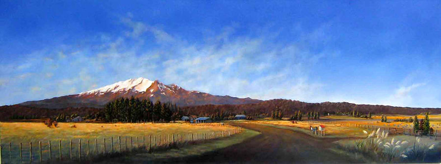 Ruapehu by Julie Oliver