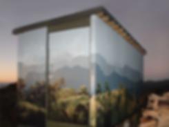 Rangiwahia Hut by Julie Oliver