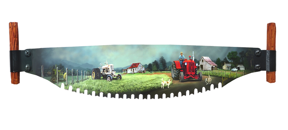 Tractor Farm by Julie Oliver