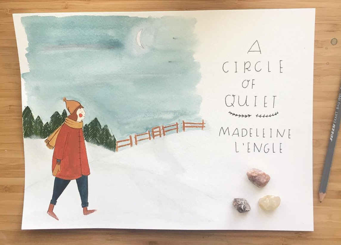 circle of quiet illustration