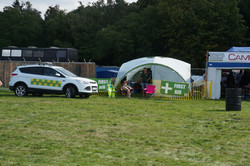 Basic medical tent