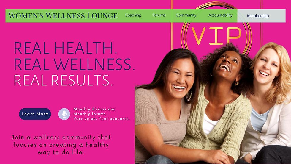 Women's Wellness Lounge VIP Community Fl