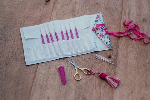 Kit de Agulhas de Crochê - Coleção Bouquet Lace | TULIP
