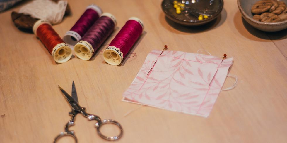 Costura à Mão, Costura Criativa à Máquina