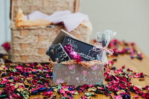Caixa Premium Rosa