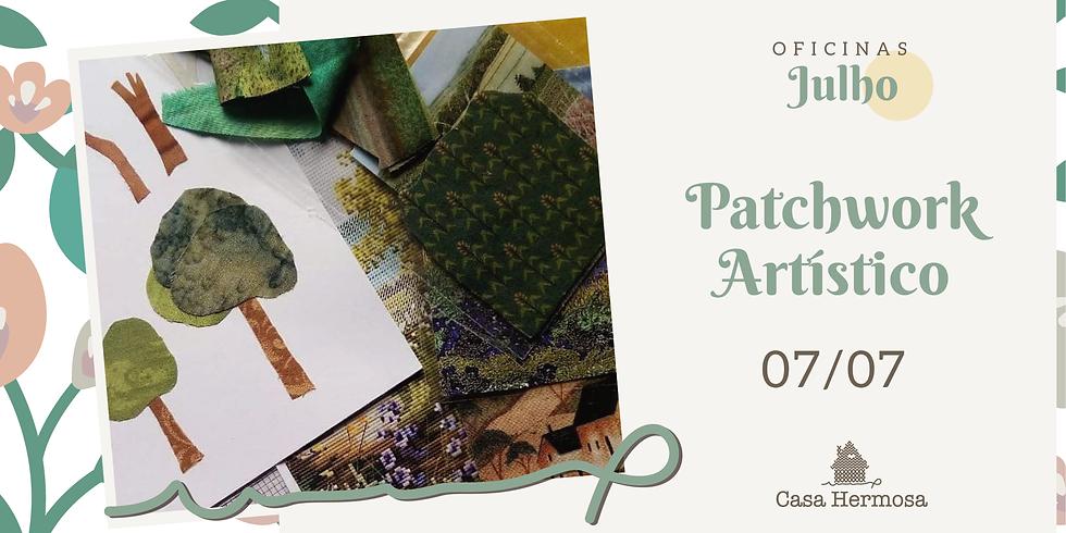 Patchwork Artístico com Sarah Kaminski - aula de suporte (tarde)