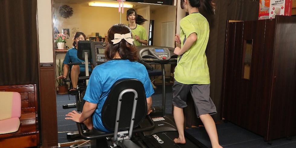 グループパーソナル教室【有酸素運動+体の勉強トレーニング】