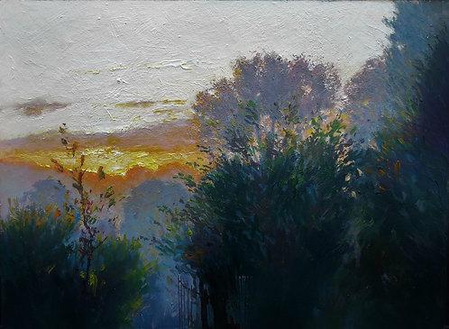 SUNRISE AT MILLCOMBE Painting