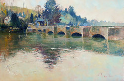 Bowcombe Bridge in Spring