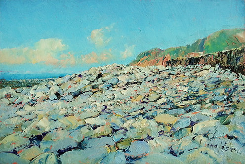 LYNMOUTH BEACH Painting