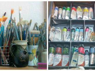 An Artist's Tools ..