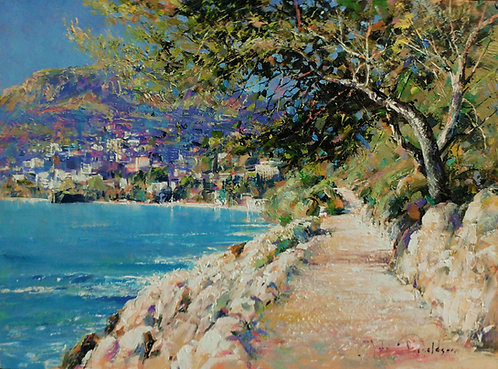 ON CAP MARTIN Painting
