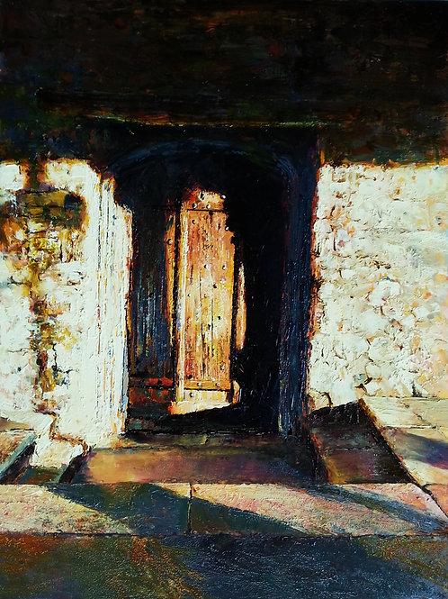 TUDOR DOOR Painting