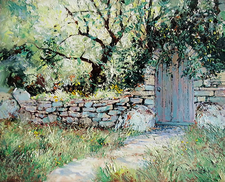 THE CHERRY ORCHARD Painting