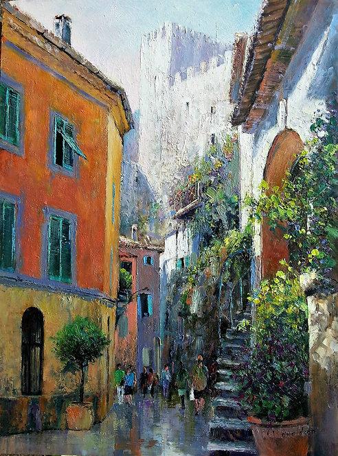 VILLE COTE D'AZUR Painting