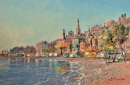 FETE DE NOEL Oil Painting
