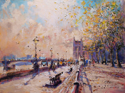 Study for Westminster Pier