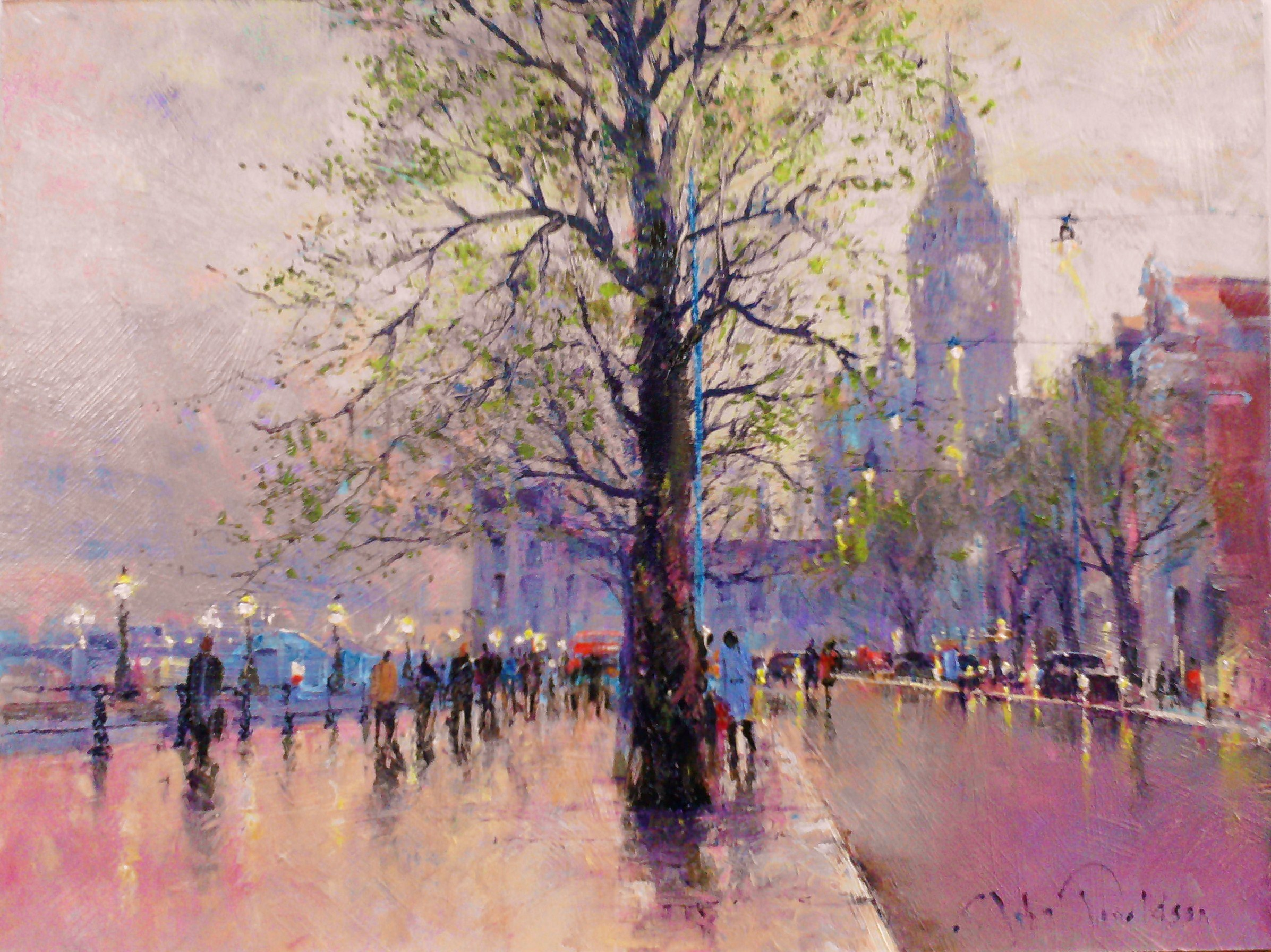 The Victoria Embankment study