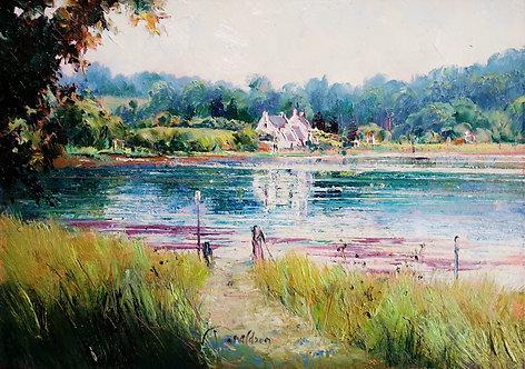 BRETON MORNING Painting