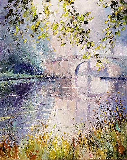 CANAL DU MIDI Painting