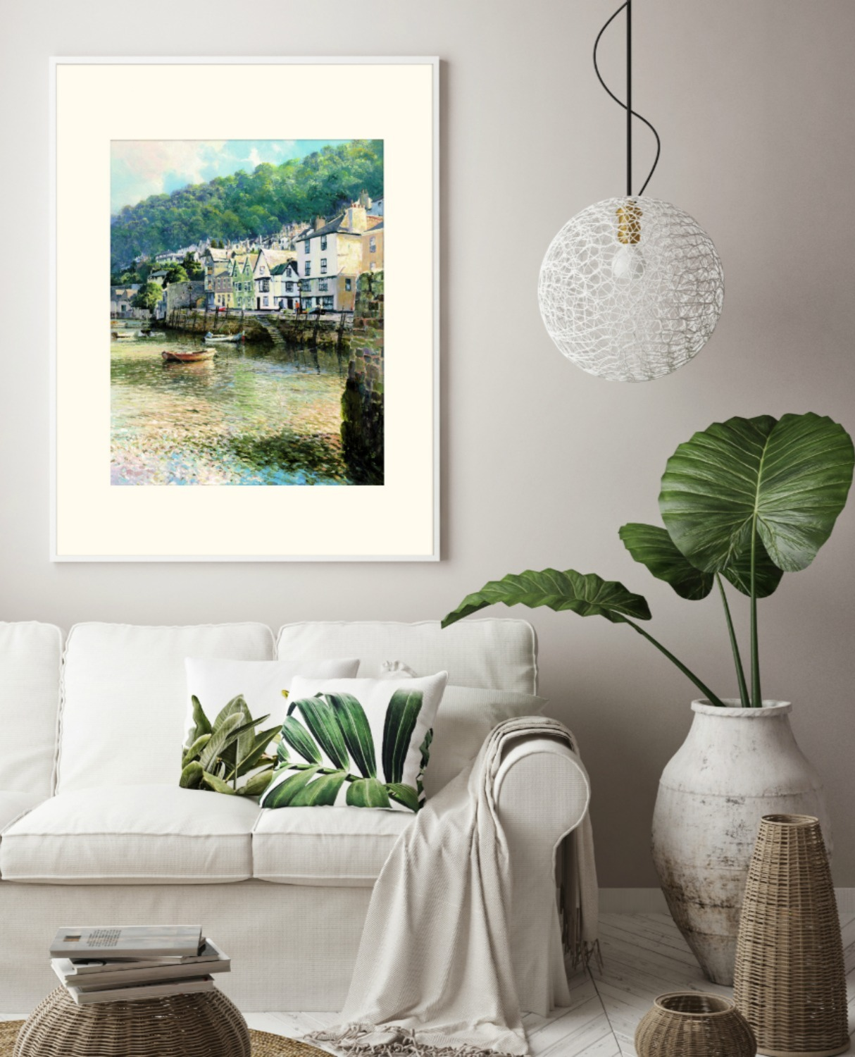Bayards Cove Limited Edition Giclee Print - Dartmouth