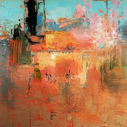 PRINTEMPS Mini Abstract Painting